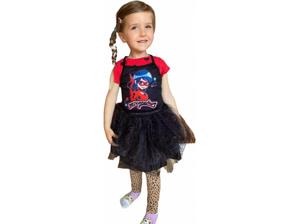 Dívčí šaty KOUZELNÁ BERUŠKA 5223205 - černé