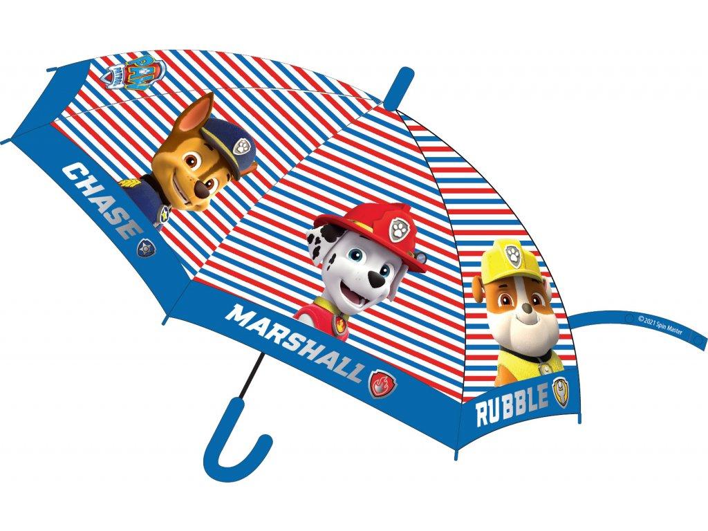 Dětský deštník TLAPKOVÁ PATROLA 52501443 - proužky