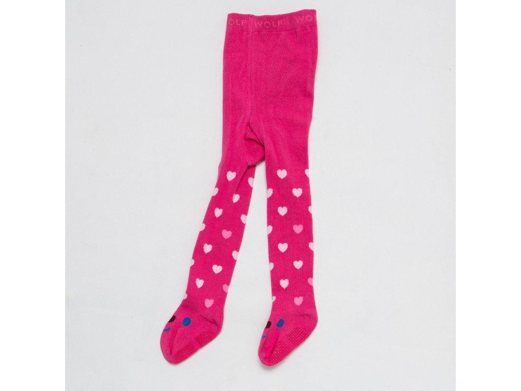 Dětské punčocháče WOLF P2810 - růžové (Velikost 86/92)