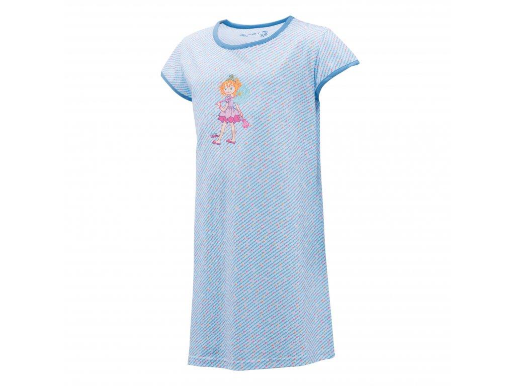Dívčí noční košile WOLF S2981 - modrá (Velikost 134)