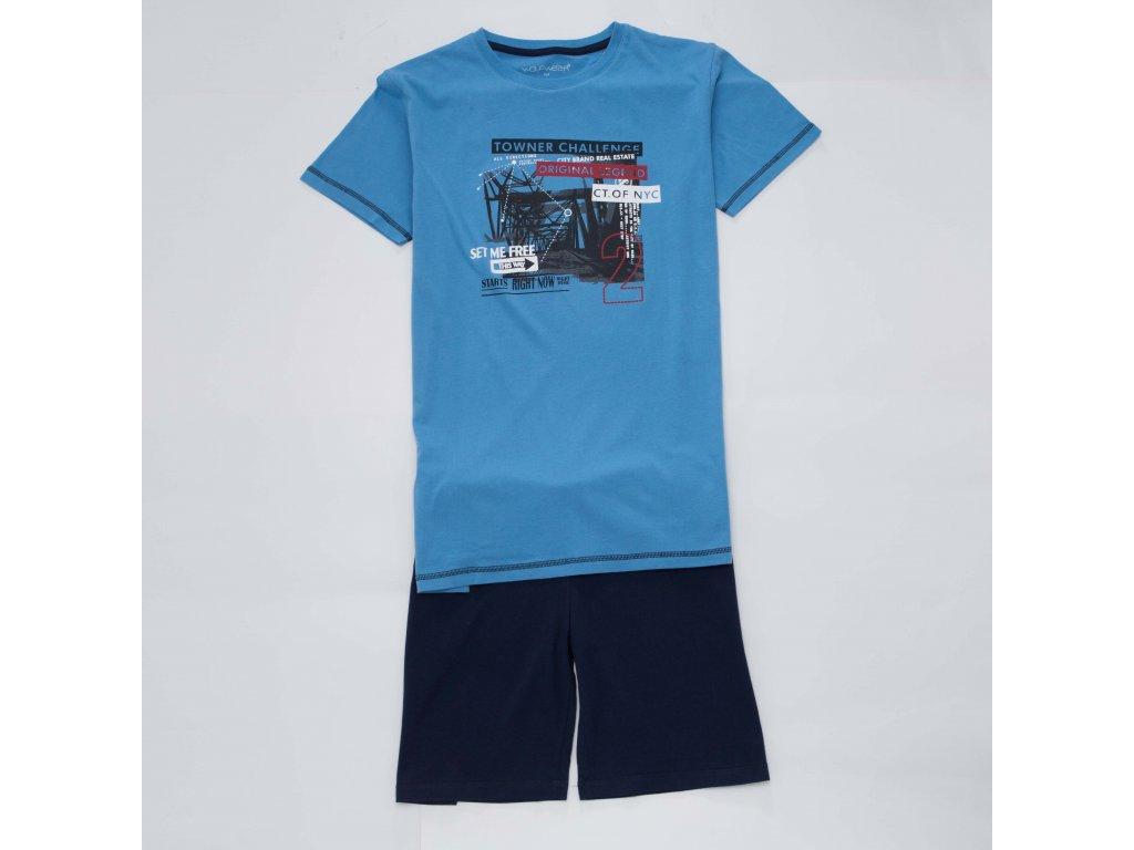 Chlapecké pyžamo WOLF S2968 - modré (Velikost 164)