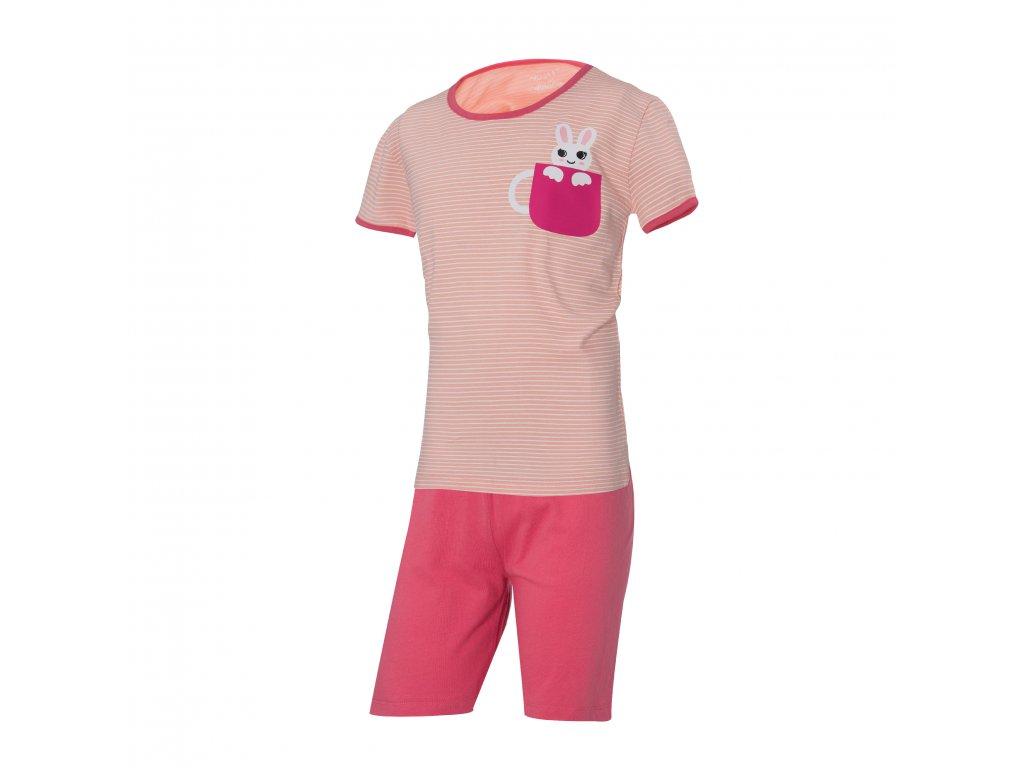 Dívčí pyžamo WOLF S2965 - lososové (Velikost 164)