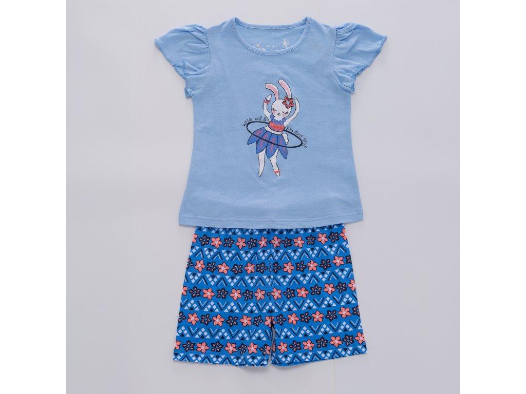 Dívčí pyžamo WOLF S2964 - modré (Velikost 128)