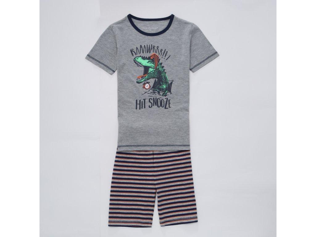 Chlapecké pyžamo WOLF S2967 - šedý melír (Velikost 128)