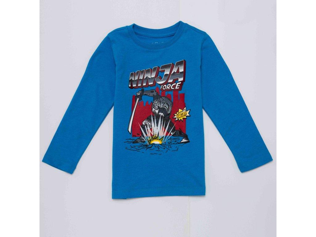 Chlapecké triko WOLF S2931 - modré (Velikost 128)