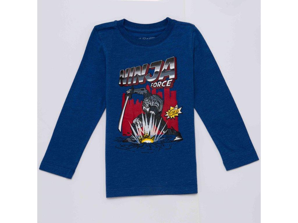 Chlapecké triko WOLF S2931 - tm. modré (Velikost 128)