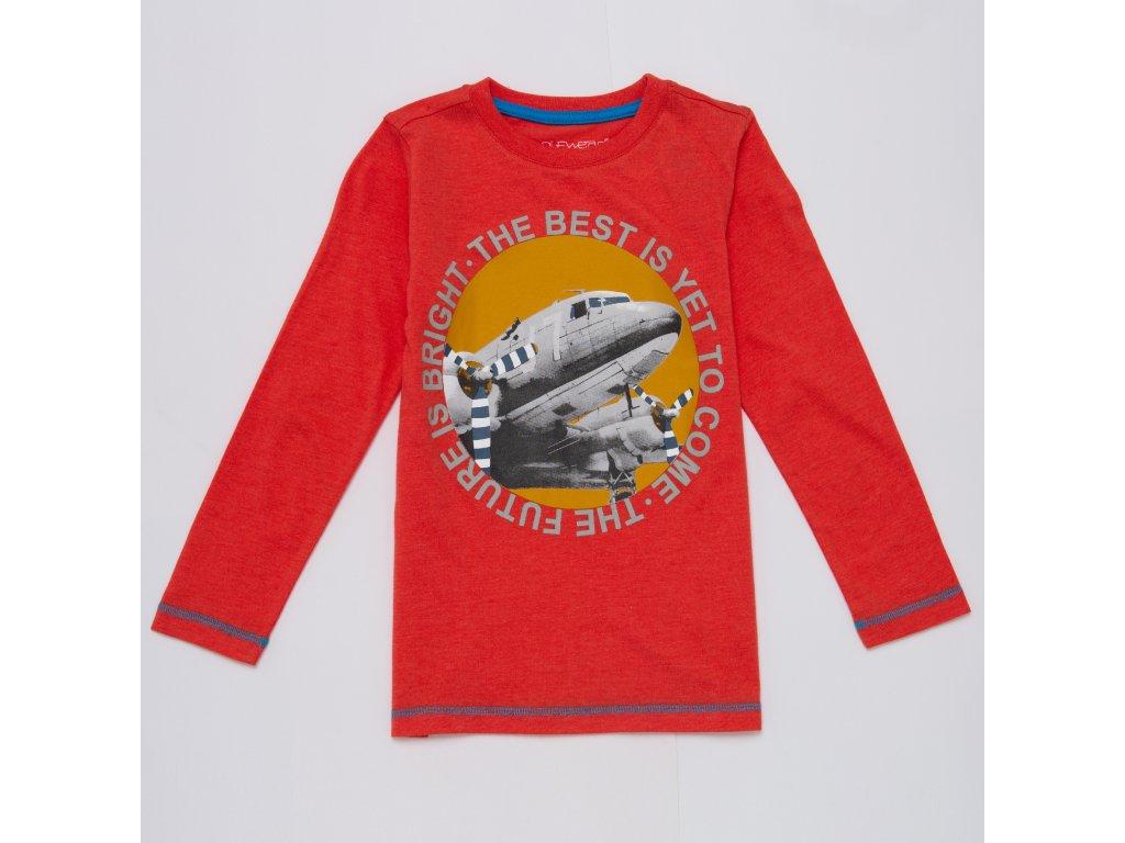 Chlapecké triko WOLF S2932 - oranžové (Velikost 128)