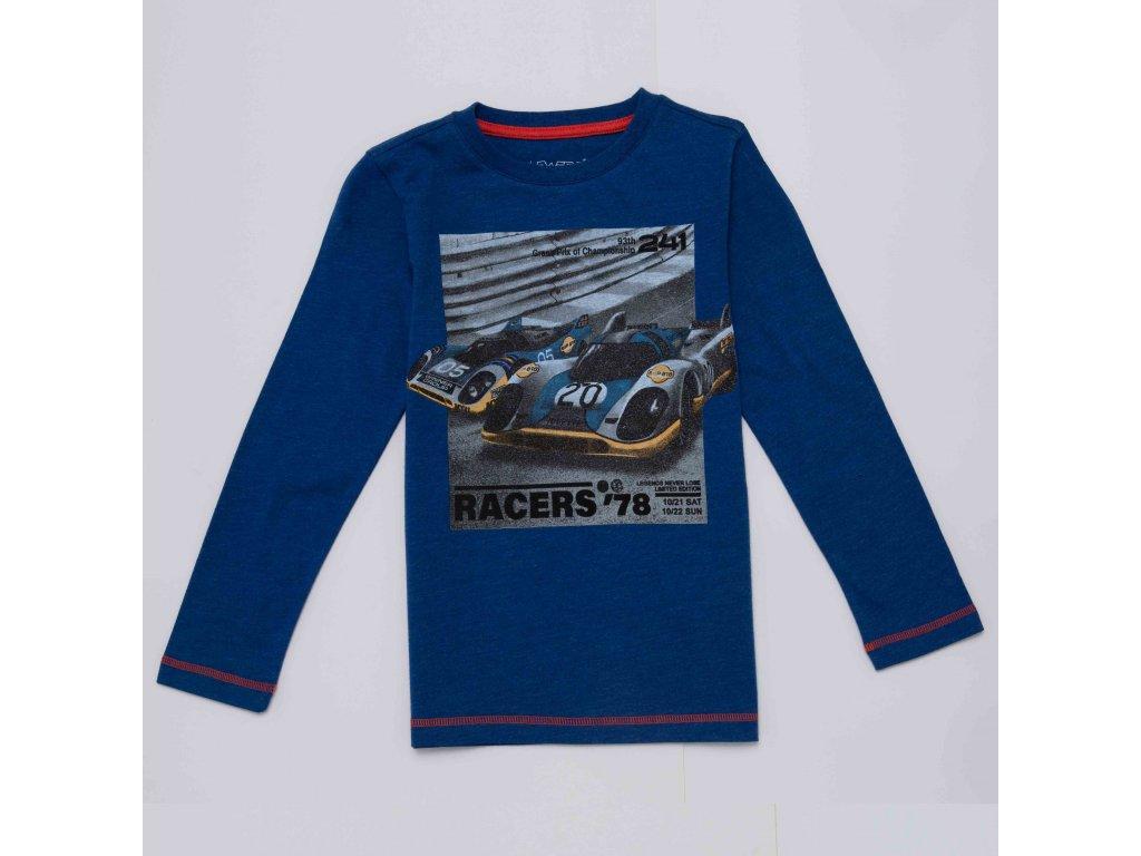 Chlapecké triko WOLF S2932 - tm. modré (Velikost 146)