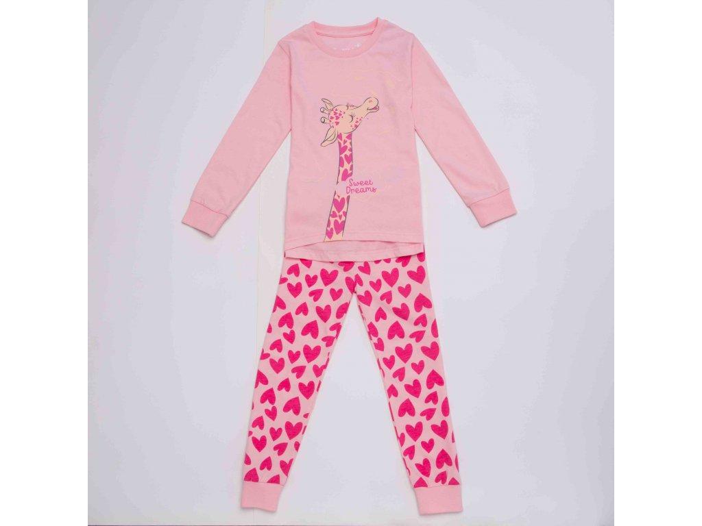 Dívčí pyžamo WOLF S2952 - růžové (Velikost 134)