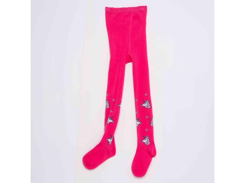 Dívčí punčocháče WOLF P2914 - růžové (Velikost 98/104)