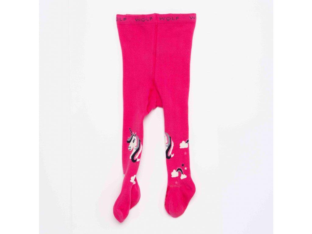 Dětské punčocháče WOLF P2910 - růžové (Velikost 86/92)