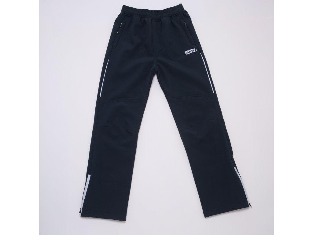 Chlapecké softshellové kalhoty WOLF B2995 - šedé (Velikost 170)