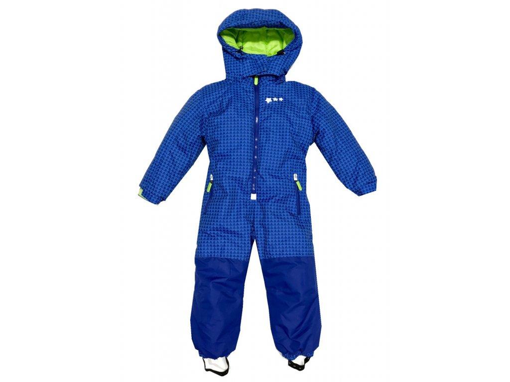 Dětská kombinéza KUGO B301 - modrá (Velikost 122)