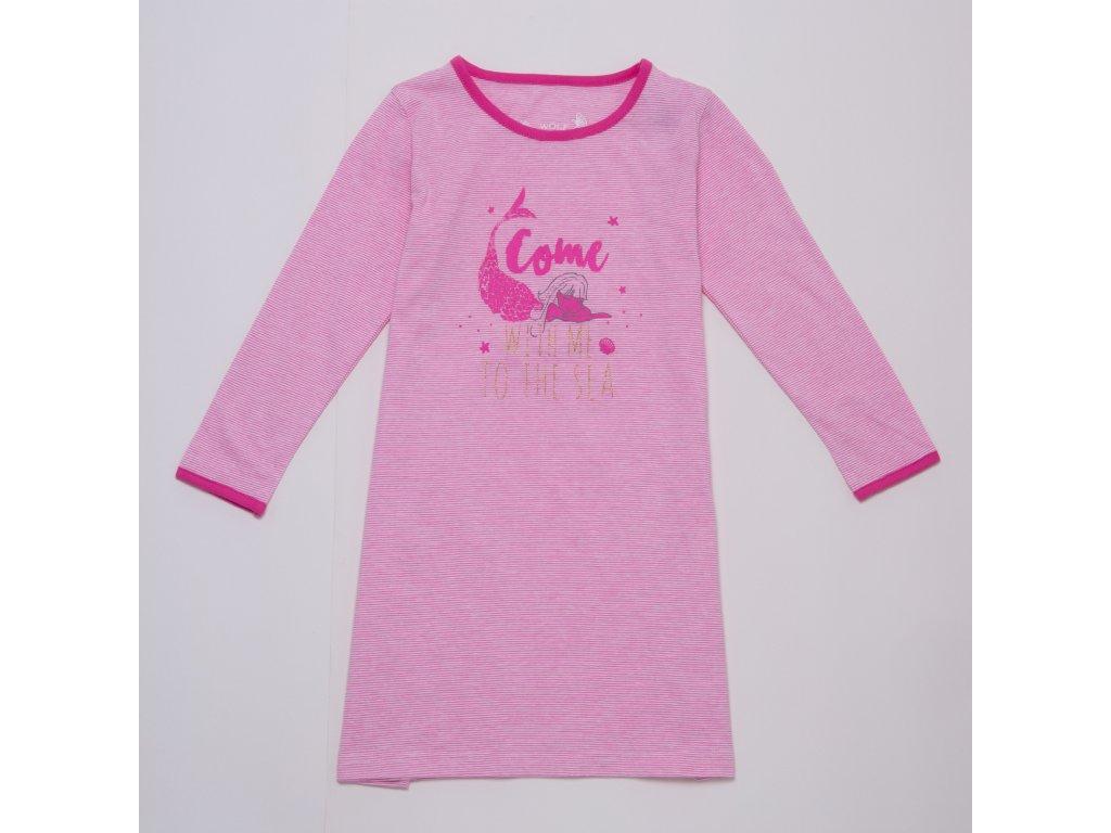 Dívčí noční košile WOLF S2983 - růžová (Velikost 134)