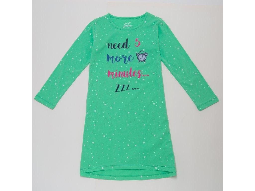 Dívčí noční košile WOLF S2984 - zelinkavá (Velikost 164)