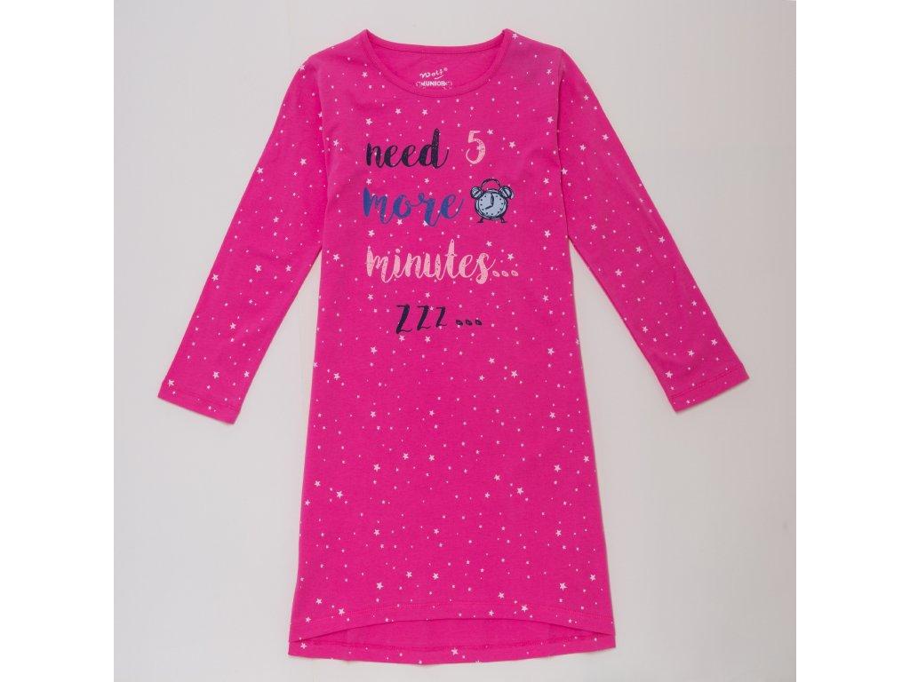 Dívčí noční košile WOLF S2984 - růžová (Velikost 164)