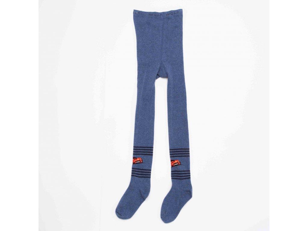Chlapecké punčocháče WOLF P2912 - modré (Velikost 98/104)