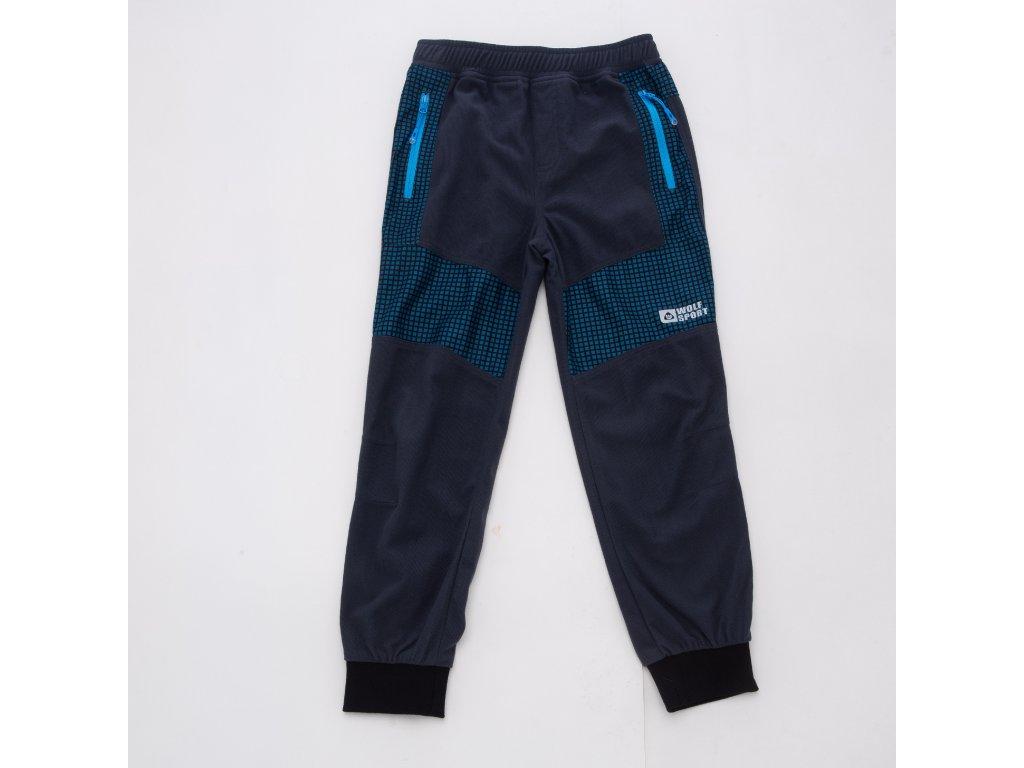Chlapecké outdoorové kalhoty WOLF T2051 - tm. šedé (Velikost 128)