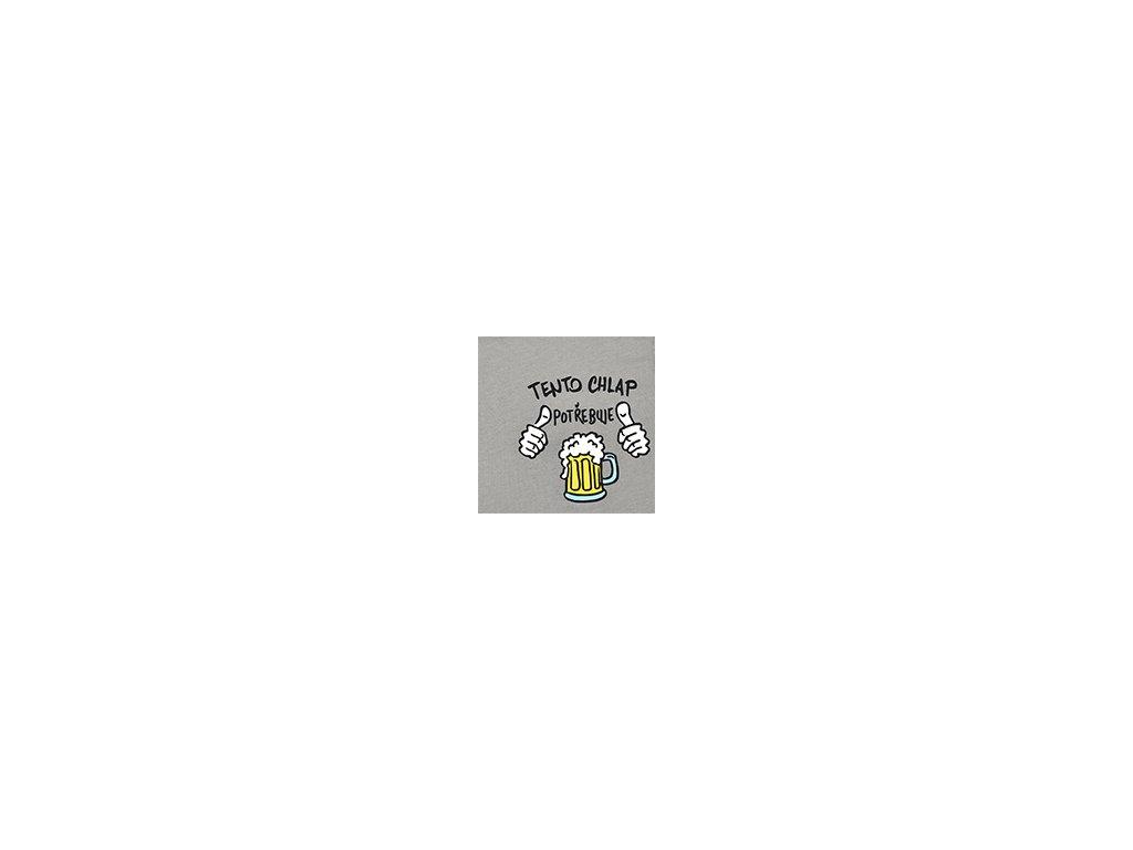 Pánské trenýrky ANDRIE PS5467 - šedé (Velikost XL(54/56))