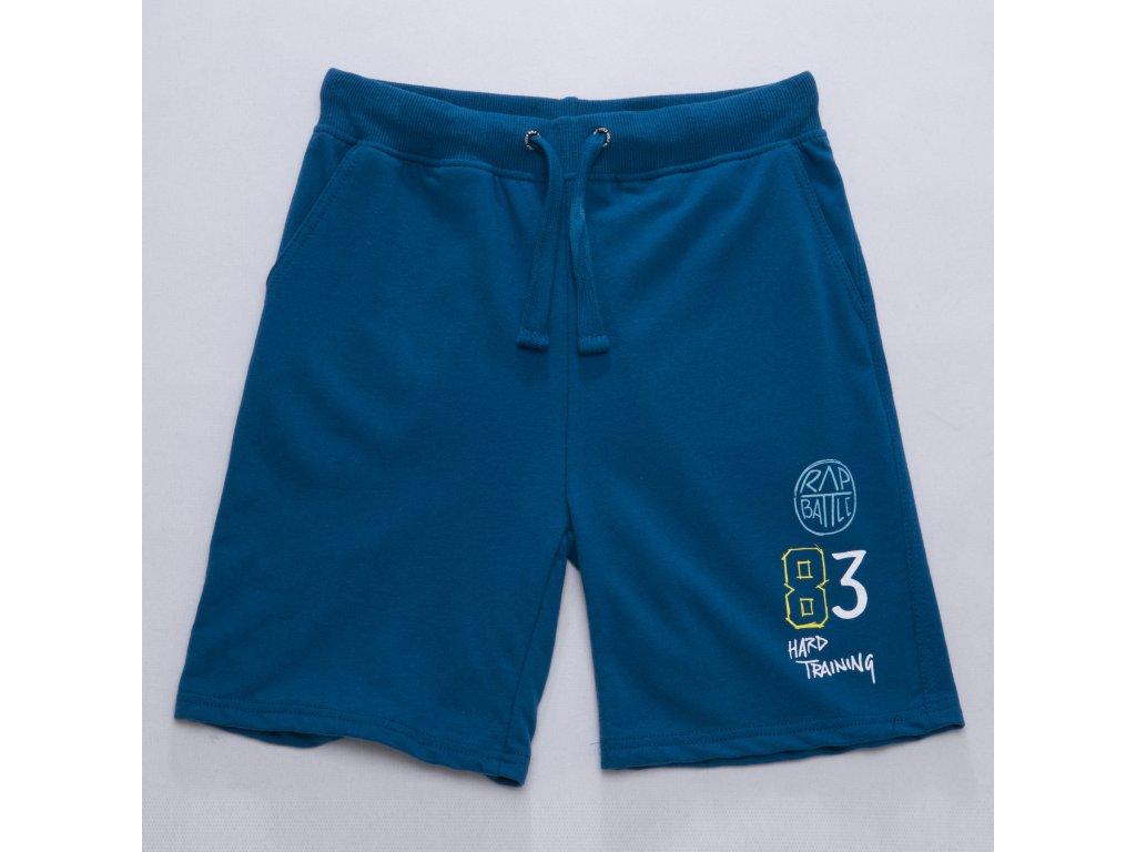 Dětské chlapecké kraťasy WOLF T2734 - modré (Velikost 134)