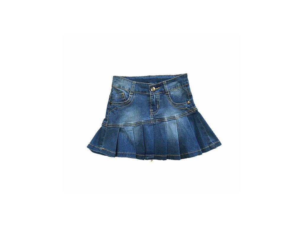 Dívčí riflová sukýnka K112 - modrá (Velikost 8let)