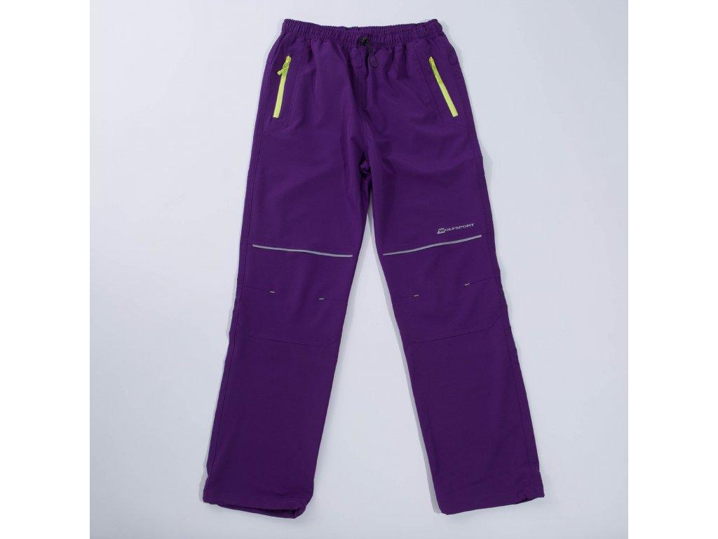 Dětské softshellové kalhoty WOLF B2887 - fialové (Velikost 164)