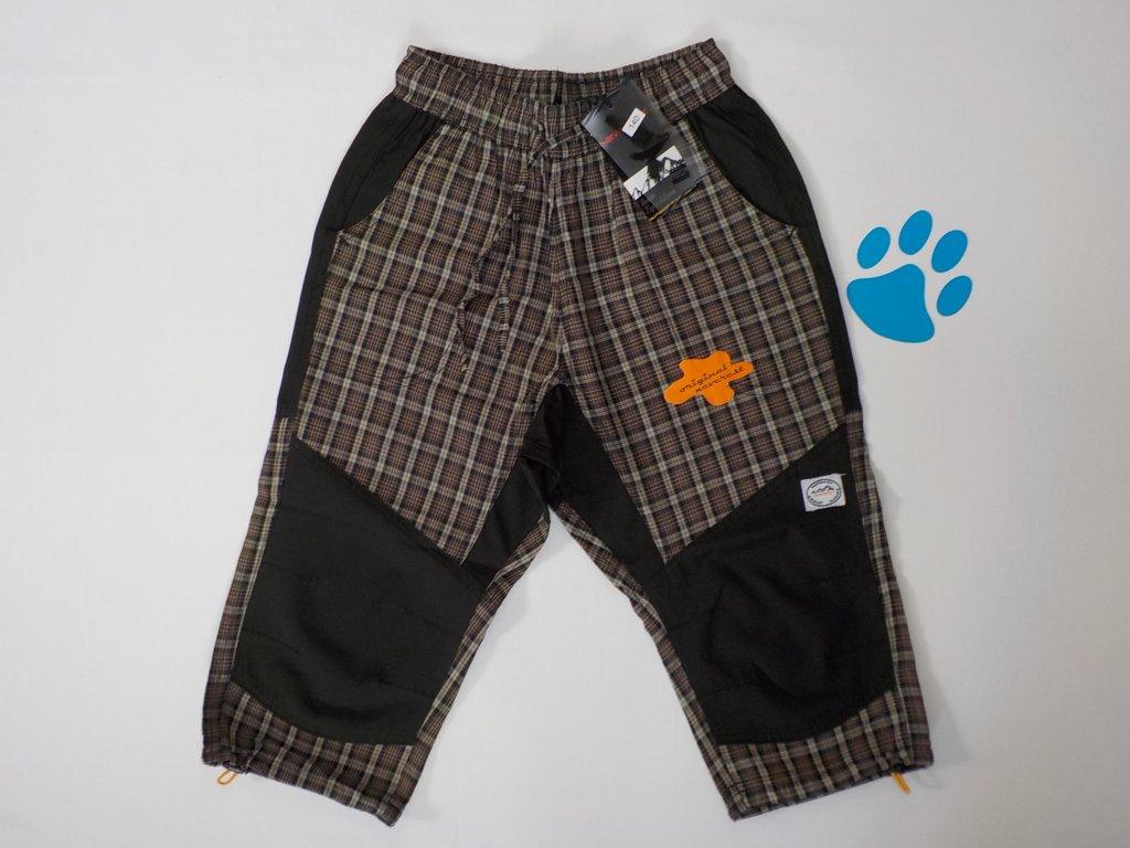 Dětské outdoorové 3/4 kalhoty Neverest K-1255c - hnědé (Velikost 164)