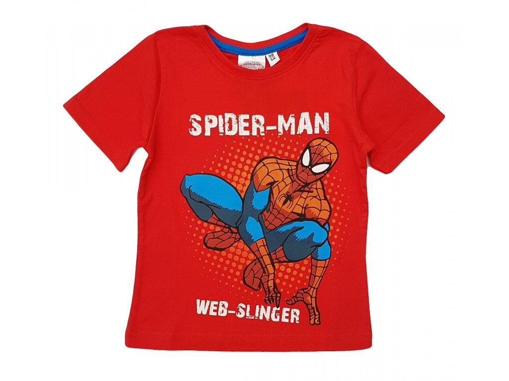 Chlapecké triko SPIDER-MAN 604 - červené