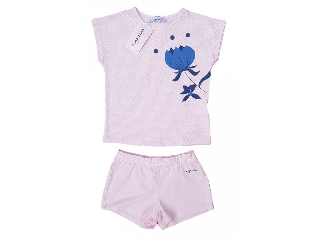 Dívčí pyžamo NAF NAF 3008 - sv. růžové