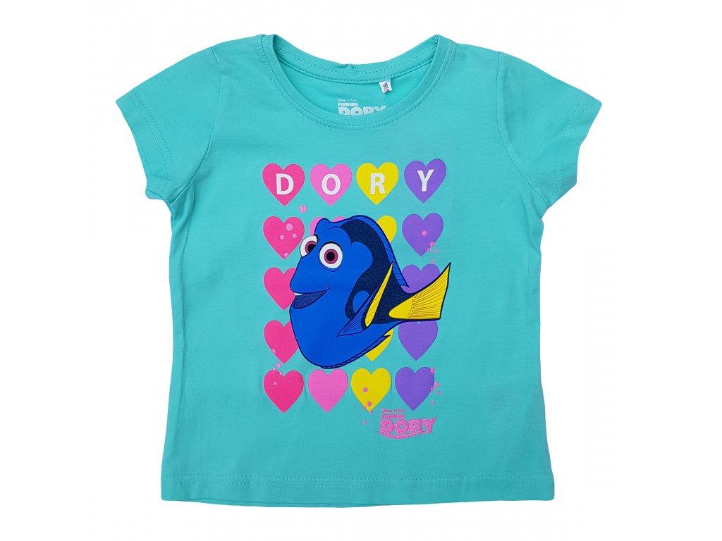 Dívčí triko DORY 3220 - sv. tyrkysové
