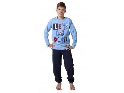 Chlapecké pyžamo CALVI 18-334 - modré