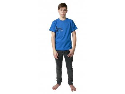 Chlapecké triko CALVI 19-018 - modrá