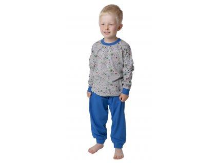 Dětské pyžamo CALVI 18-434 - šedé
