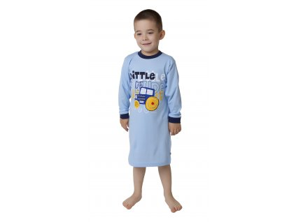 Chlapecká noční košile CALVI 16-432 - modrá
