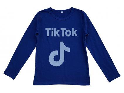 Chlapecké triko TUZZY 1750 - tmavší modrá