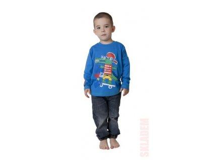 Chlapecké triko CALVI 15-605 - jasně modrá