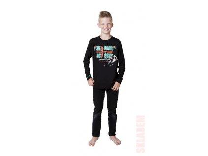 Chlapecké triko CALVI 15-612 - modré