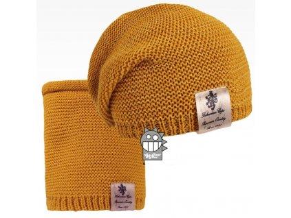 pletená čepice+nákrčník 13 LI (2)