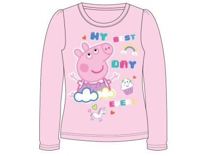 Dívčí triko PEPPA PIG 5202705 - světle růžová