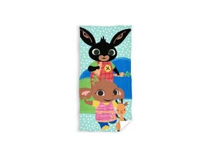 Dětský ručník ZAJÍČEK BING 446955 - tyrkys