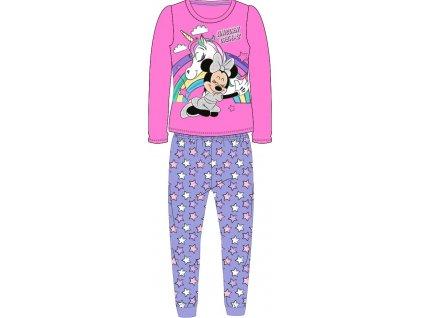Dětské pyžamo MINNIE A JEDNOROŽEC 52048880 - tm. růžová