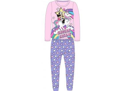 Dětské pyžamo MINNIE A JEDNOROŽEC 52048880 - sv. růžová