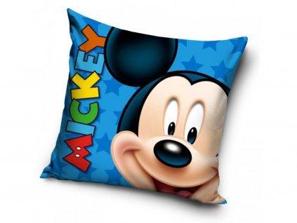Dětský polštářek 460760 - MICKEY smile, modrý