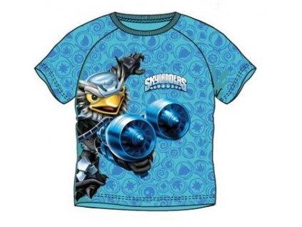 Dětské triko SKYLANDERS 1541 - modré