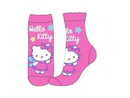 Dětské ponožky HELLO KITTY 52342229 - tmavší růžová