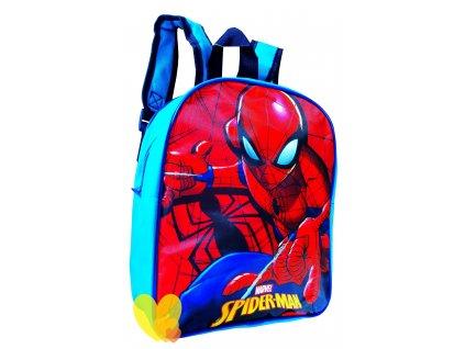 Dětský batoh SPIDER-MAN 0814 - červená/modrá