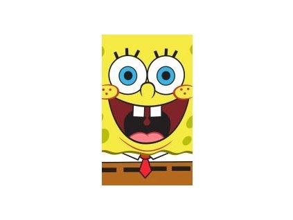 Dětský ručník SPONGEBOB 447761 - žlutý