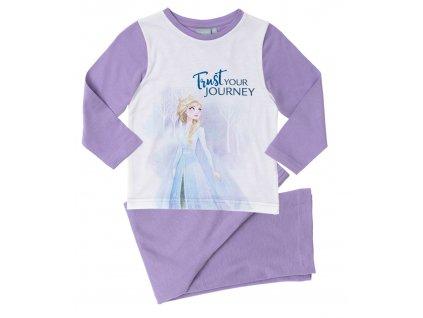 Dívčí pyžamo FROZEN 35168 - fialové
