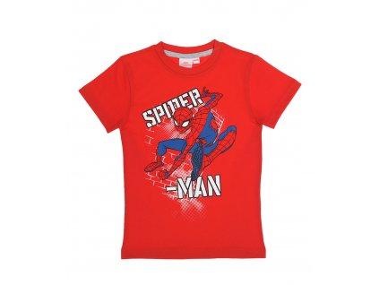 Chlapecké triko SPIDERMAN 35686 - červené