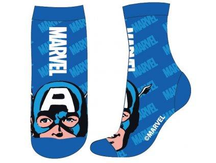 Dětské ponožky AVENGERS 5234308 - modré, Captain America